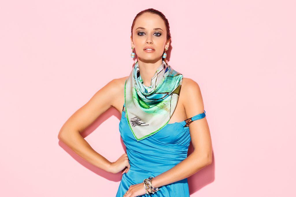 matières de foulards - carré en twill de soie