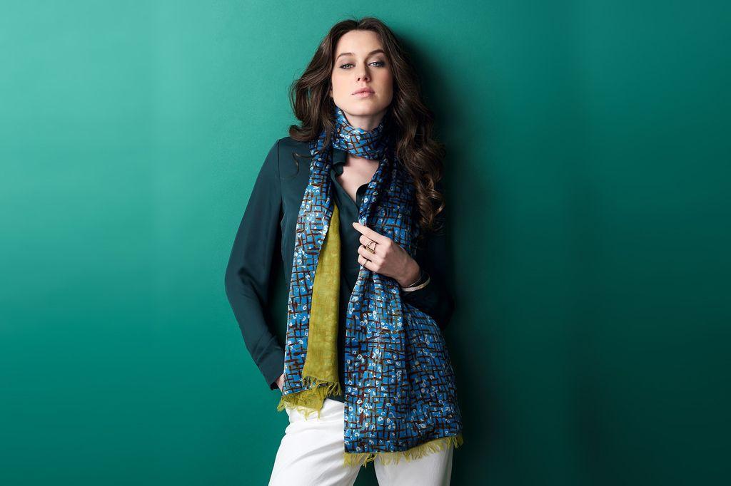 matières de foulards - étole en cachemire