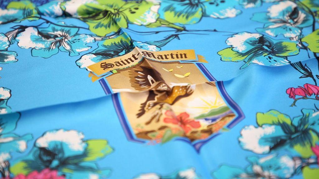 foulard personnalisé pour cadeau d'affaire