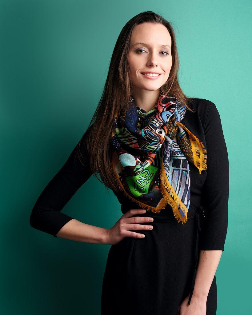 mannequin foulard femme