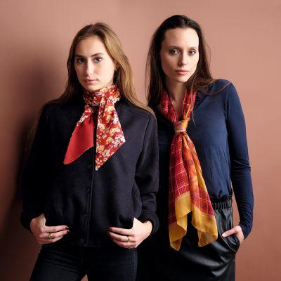 mannequins femmes foulard