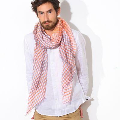 mannequin homme foulard