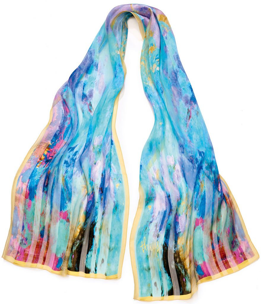 écharpe foulard