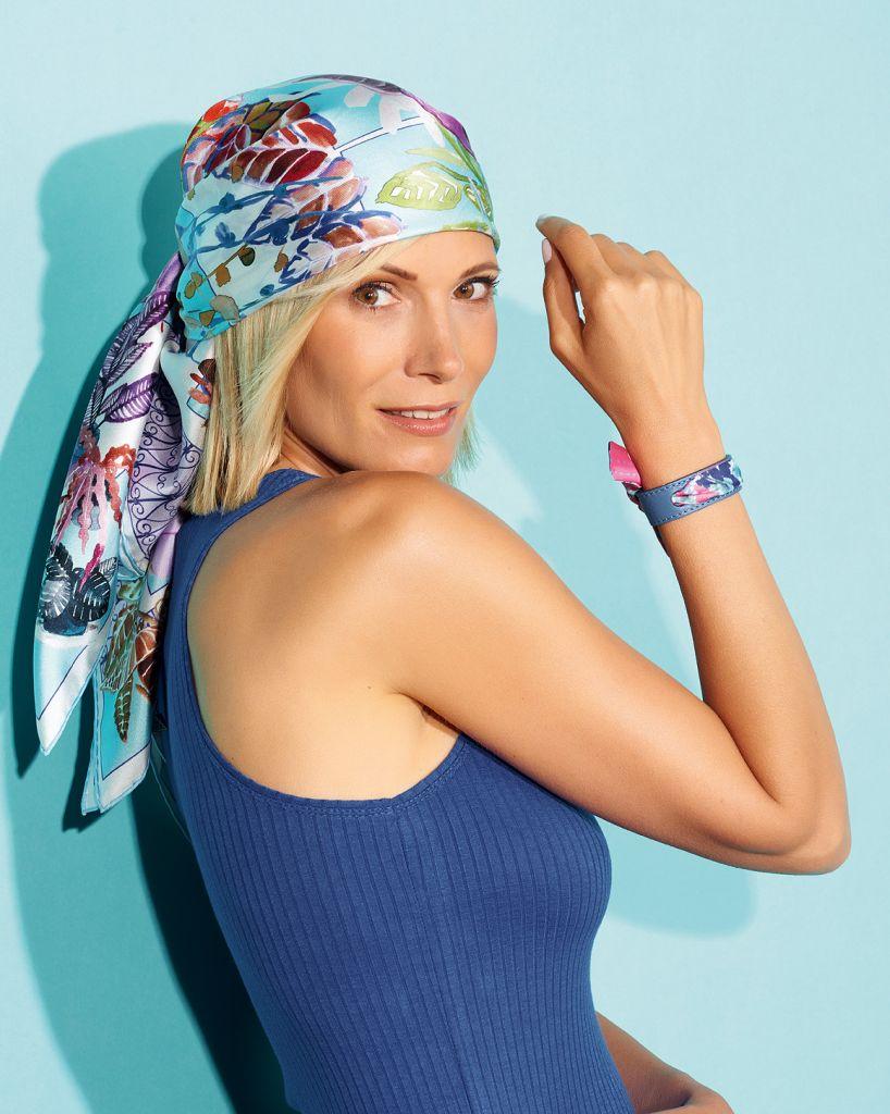mannequin foulard