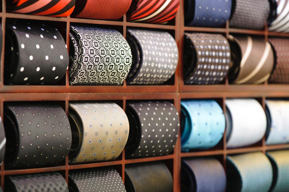 tissu foulard cravate soierie lyonnaise