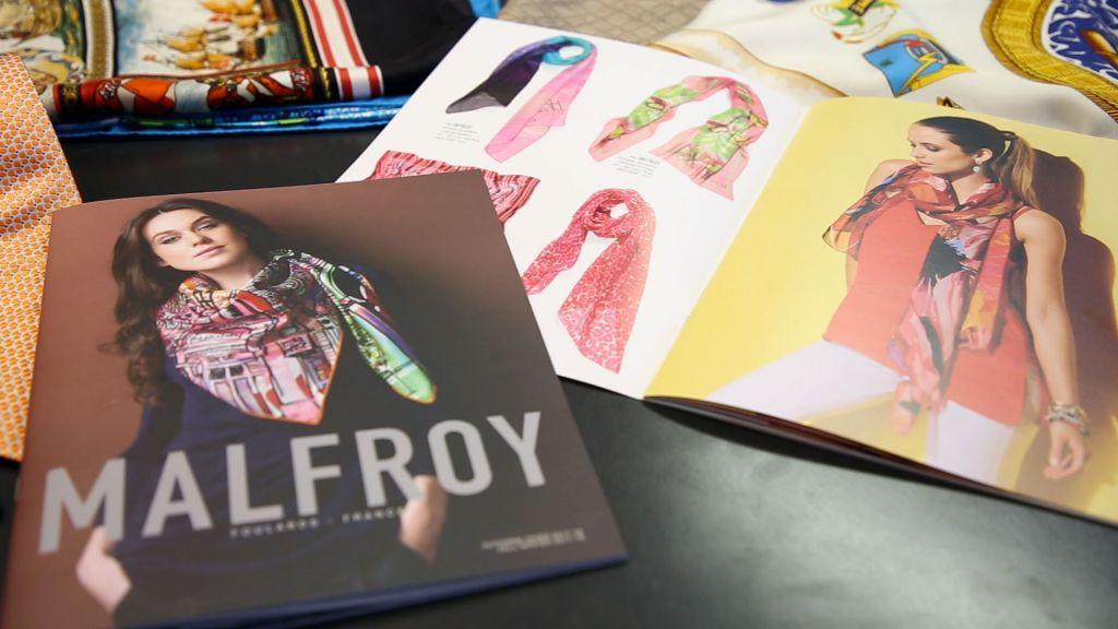catalogues collection malfroy pour cadeaux d'affaire