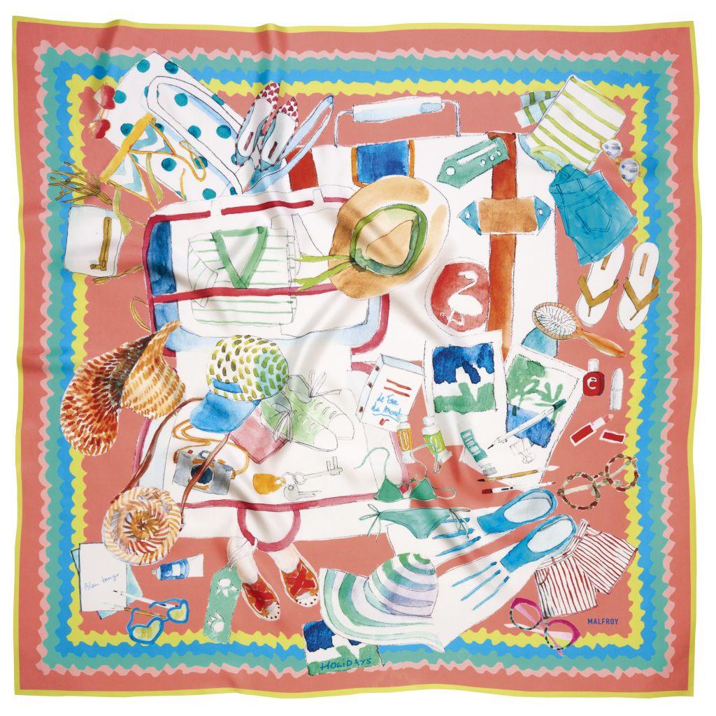 carré foulard
