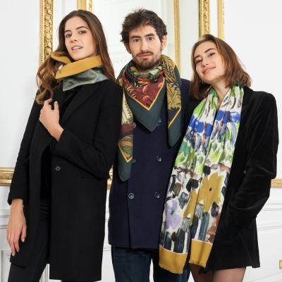 le foulard en cadeau d'évènement