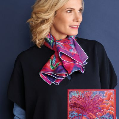 oeuvres-d-art foulard