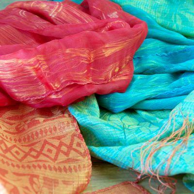 Le foulard en soie comme cadeaux d'affaires